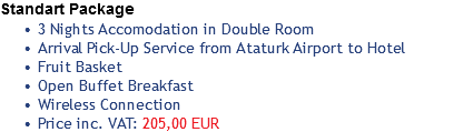 Standart Package